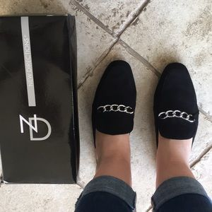 ✨NWT! New Direction black Winny slip ons